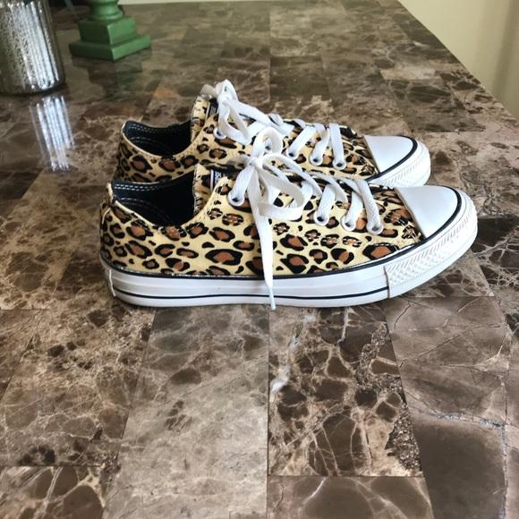 8acb3b8167f2 Converse Shoes - Converse All Stars Leopard Print EXC COND 🌺 RARE